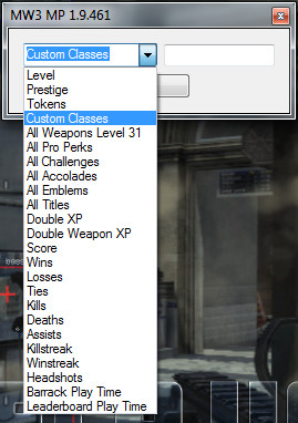 MW3 +24 Multiplayer Trainer [1.9.461] lvlhack
